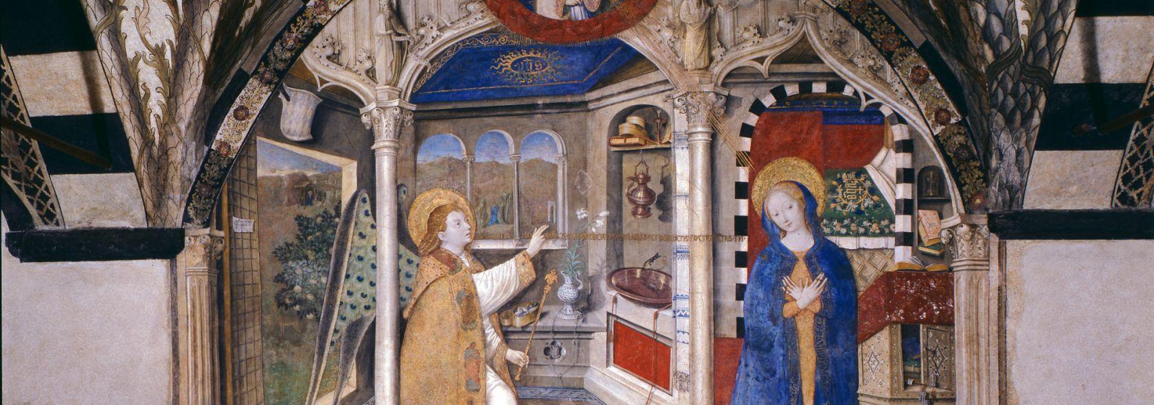 Santa Maria di Castello - G. di Ravensburg, Annunciation (1451) - © Scala Archiv