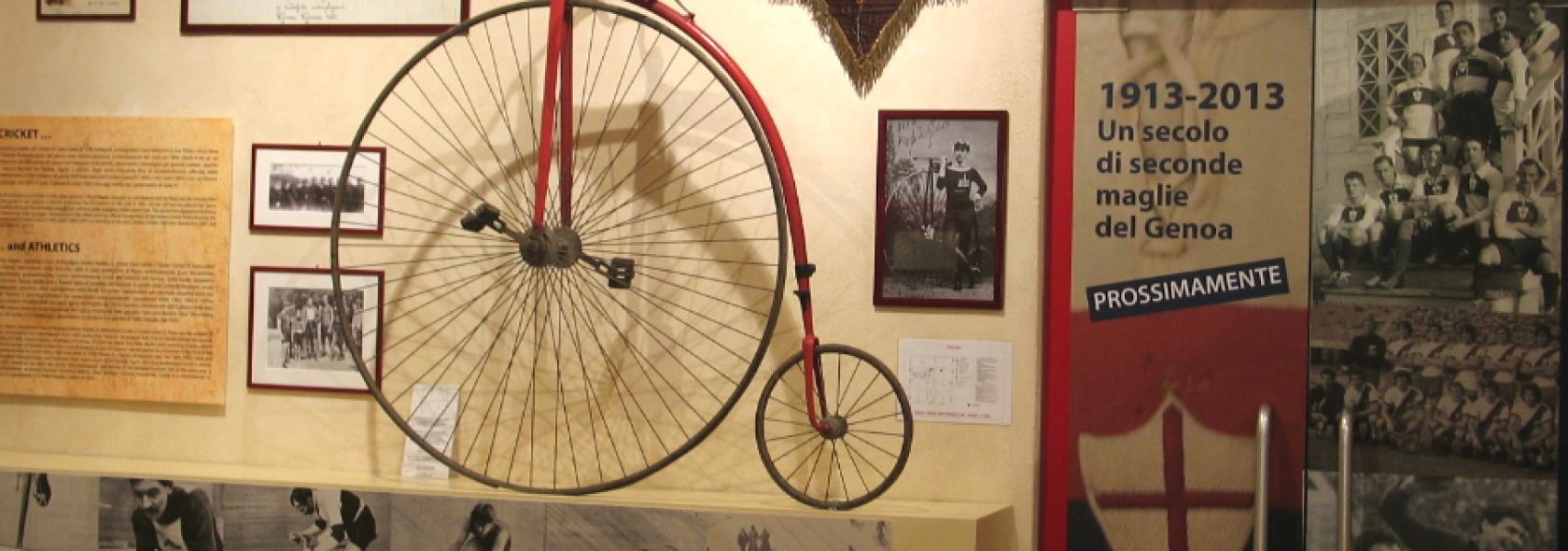 Museo della Storia del Genoa - Sala denominata Inizia la leggenda