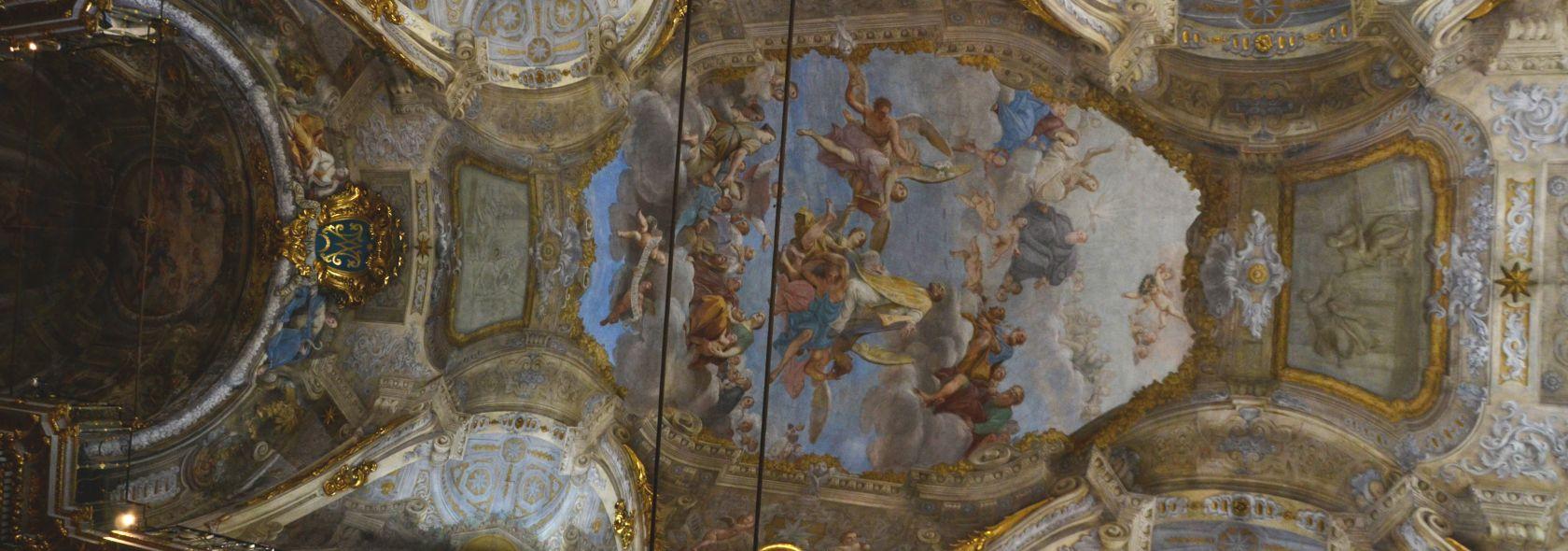 Chiesa di San Filippo Neri - affresco della volta - foto: Carlo Dall'Orto CC4.0