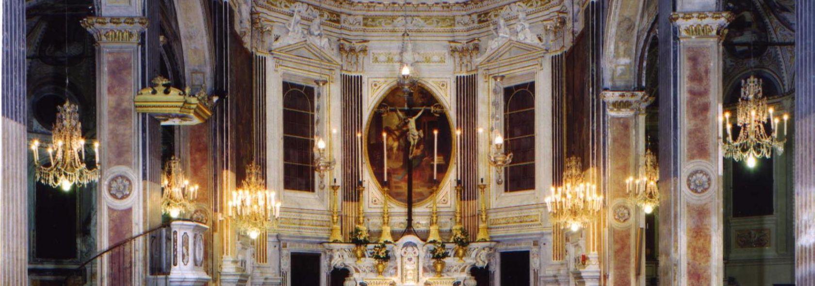 Il Santuario di Santa Caterina da Genova - interno