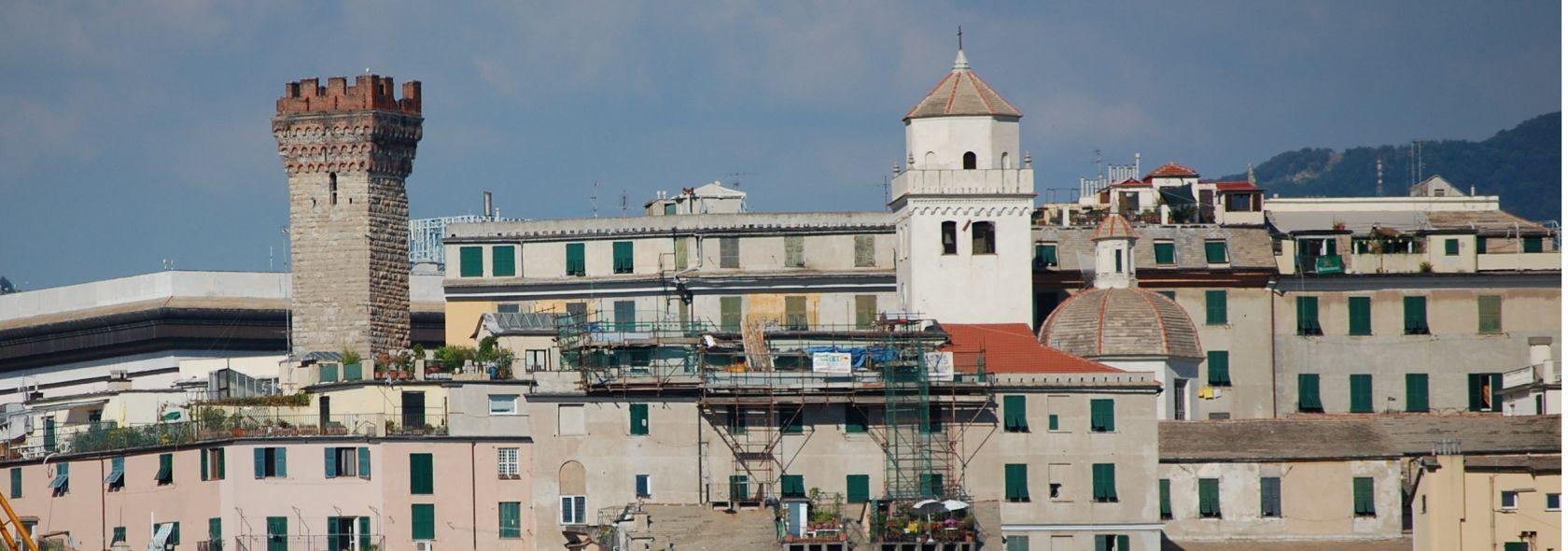 Santa Maria di Castello e Torre Embriaci Foto ©Genovacittadigitale