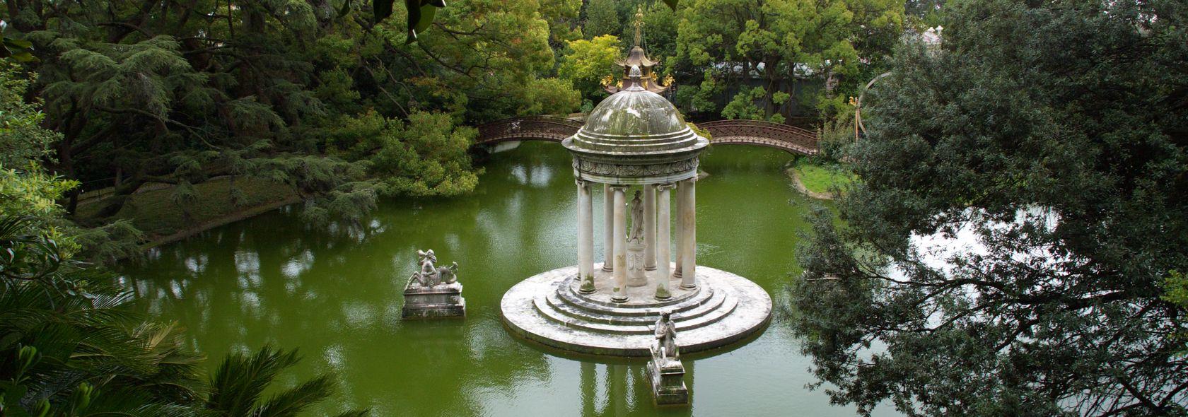 VIlla Durazzo Pallavicini - Tempio di Diana - foto: Anselmoorsi (CC 3.0)