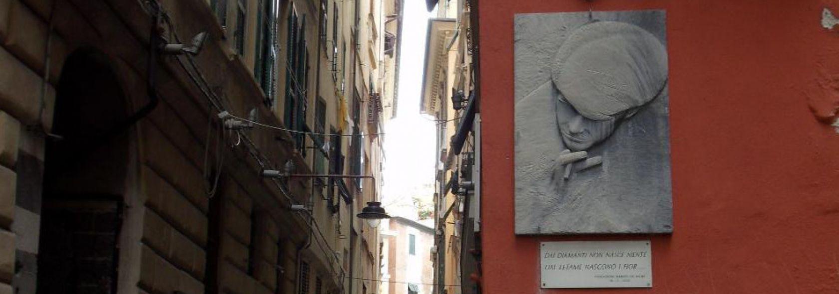 Via del Campo - Foto Ufficio Comunicazione Città Metropolitana di Genova