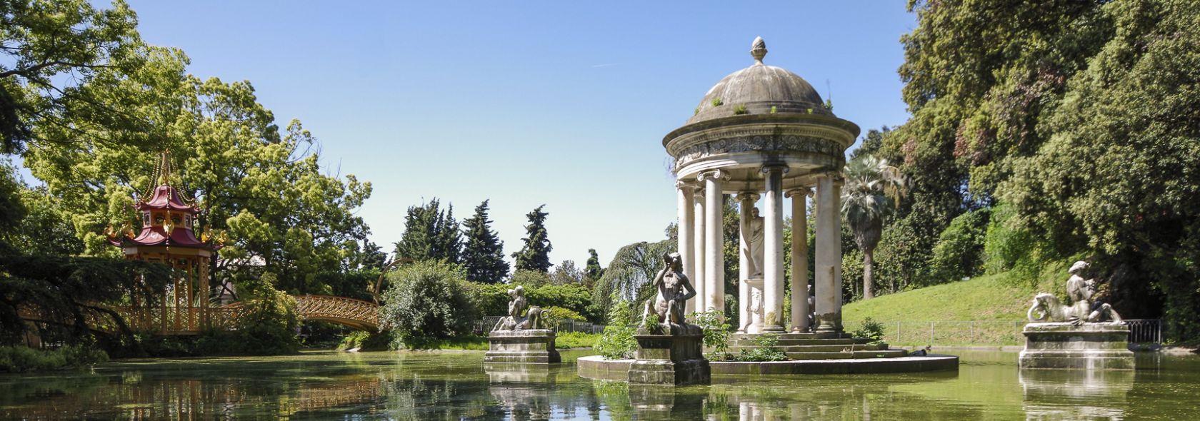 Villa Durazzo Pallavicini: Lago Grande  - ph.SACS