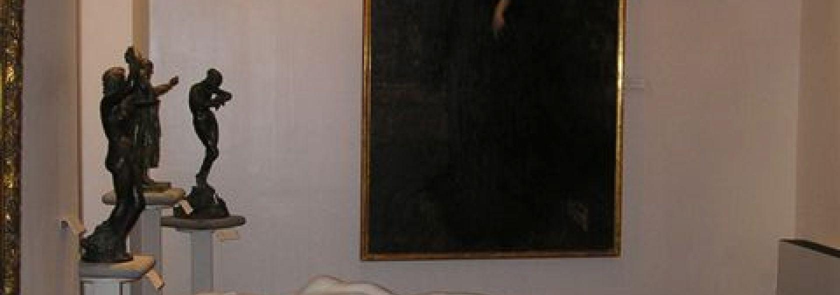 Raccolte Frugone, sala degli artisti piemontesi - Villa Grimaldi Fassio