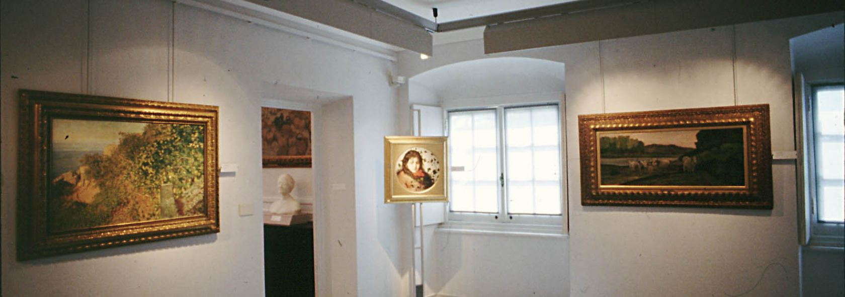 Raccolte Frugone, salone della pittura di paesaggio - Villa Grimaldi Fassio