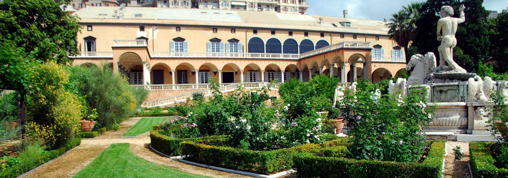 Villa del Principe - Il giardino