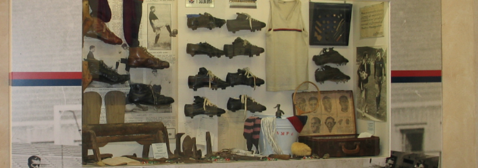Museo della Storia del Genoa - Gli allenamenti e le tattiche