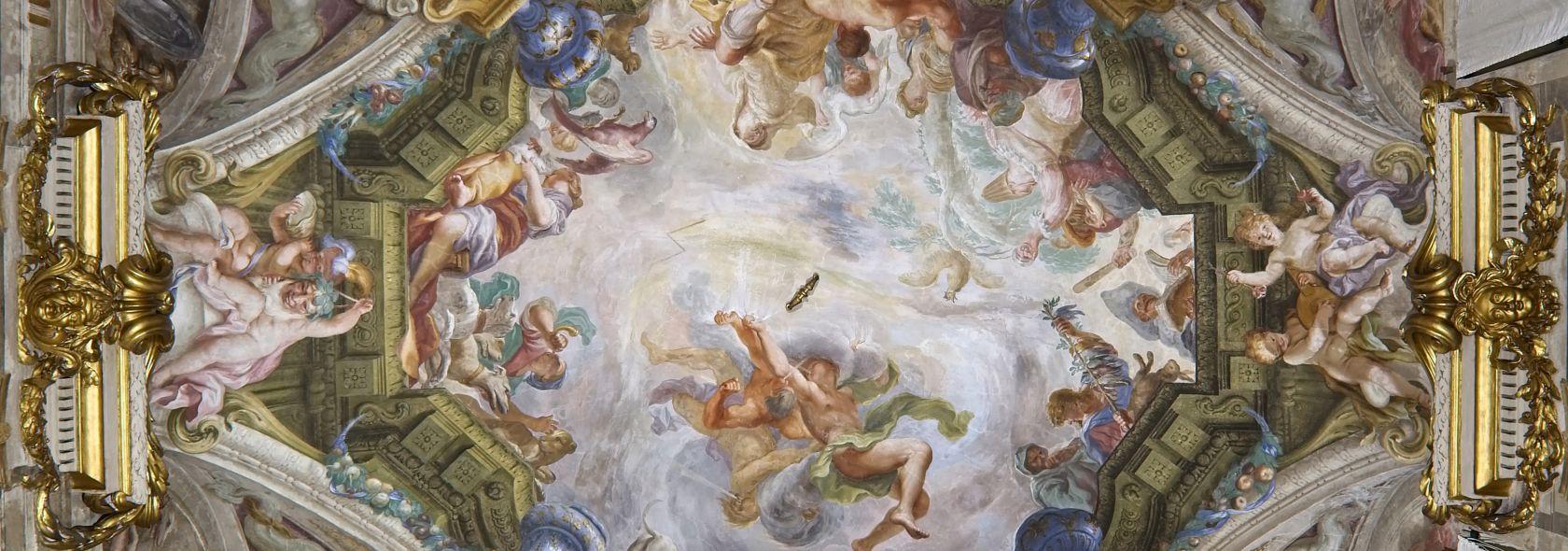 Palazzo Rosso, Sala dell'inverno - Domenico Piola
