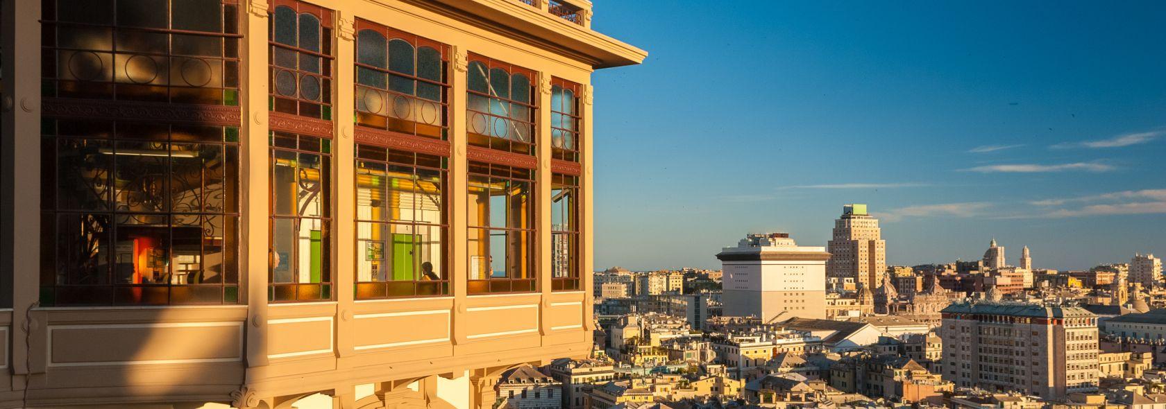 ascensore liberty in spianata Castelletto