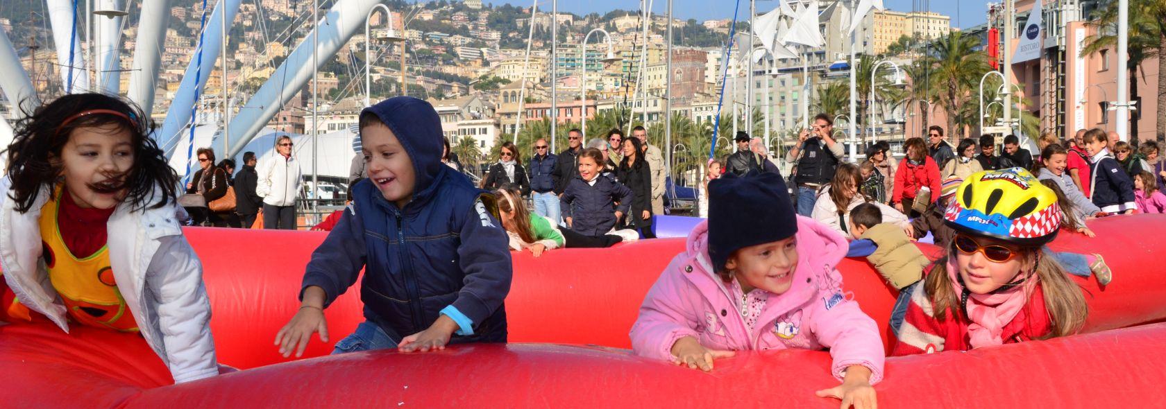 Bambini al Porto Antico