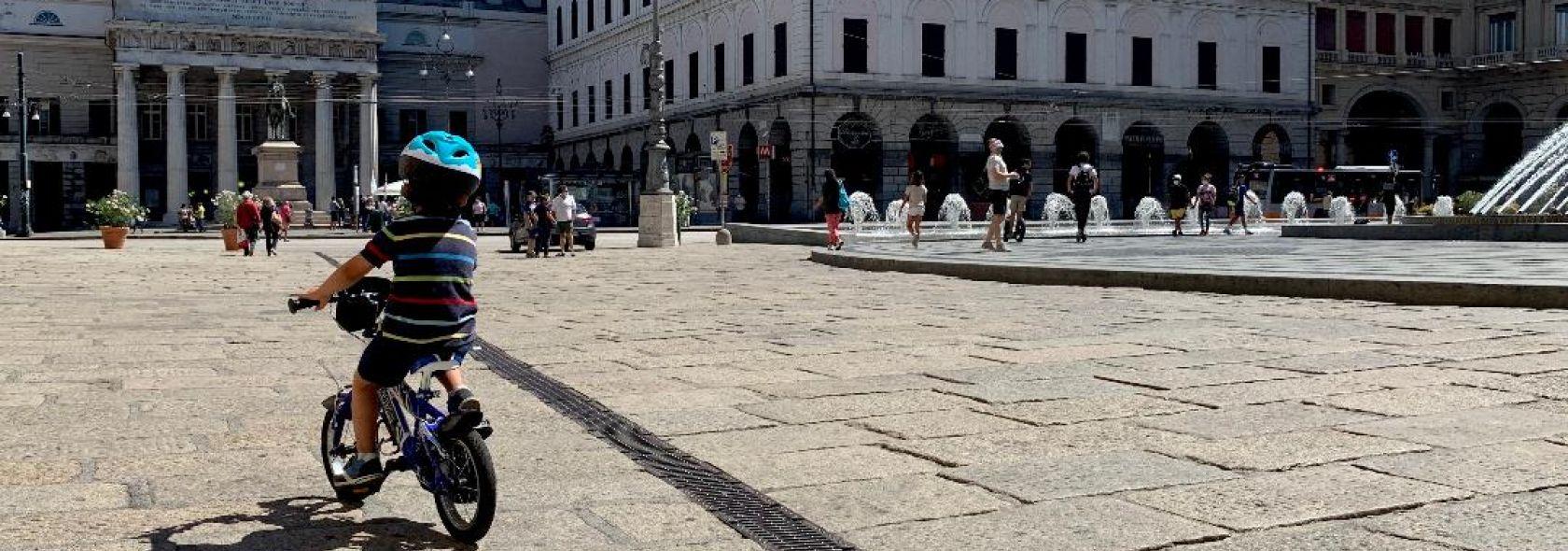 Genova in bici - ph. Alessandra Repetto