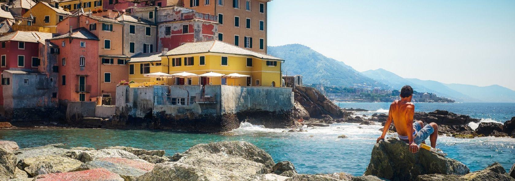 Das meer und die Strände: Boccadasse - ©Adobestock-Liguriadigitale
