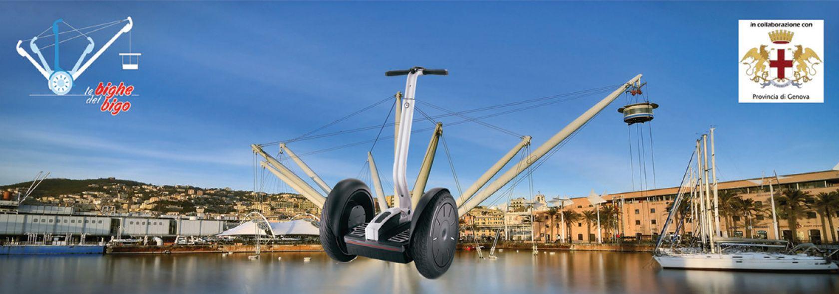 Visite guidate con il Segway - foto: @ Genova Segway Tour