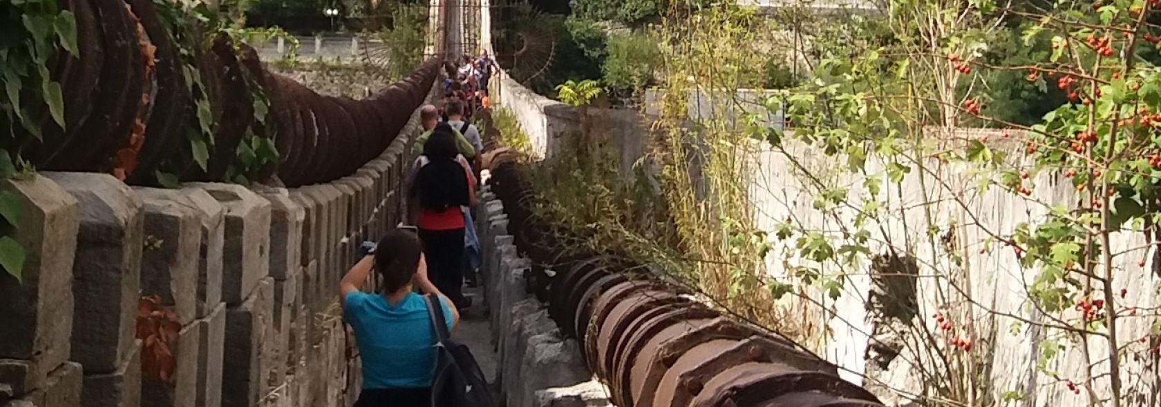 Ponte sifone sul rio Geirato