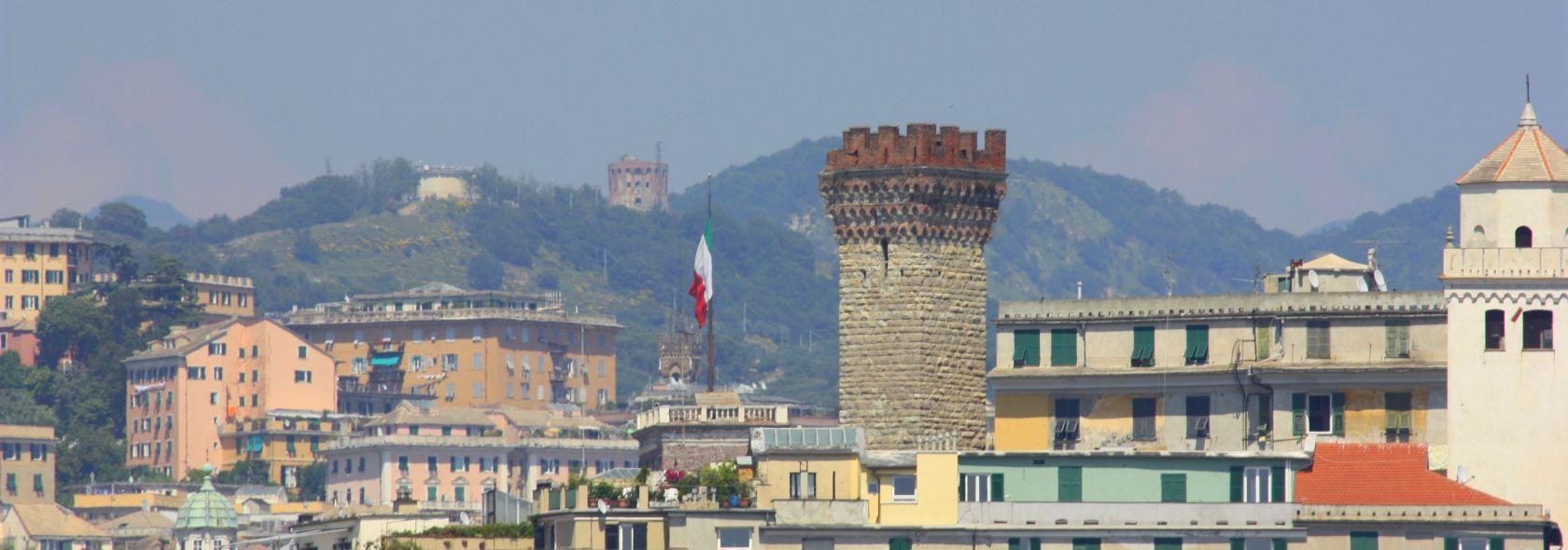 Tetti e Torri di Genova