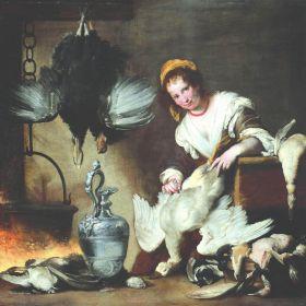 Bernardo Strozzi - La cuoca