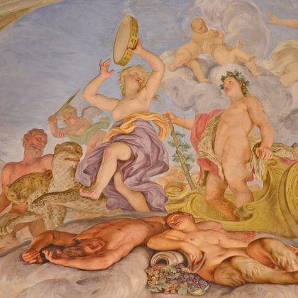 Museo di Palazzo Reale - Domenico Parodi - sovrapporta con Bacco e Arianna
