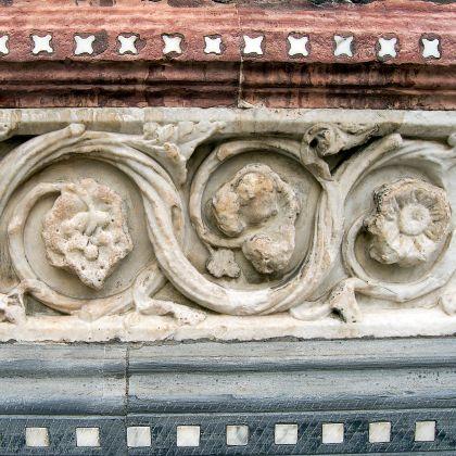 Un particolare della Cattedrale di San Lorenzo