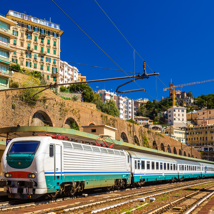 Genova Piazza Principe railway