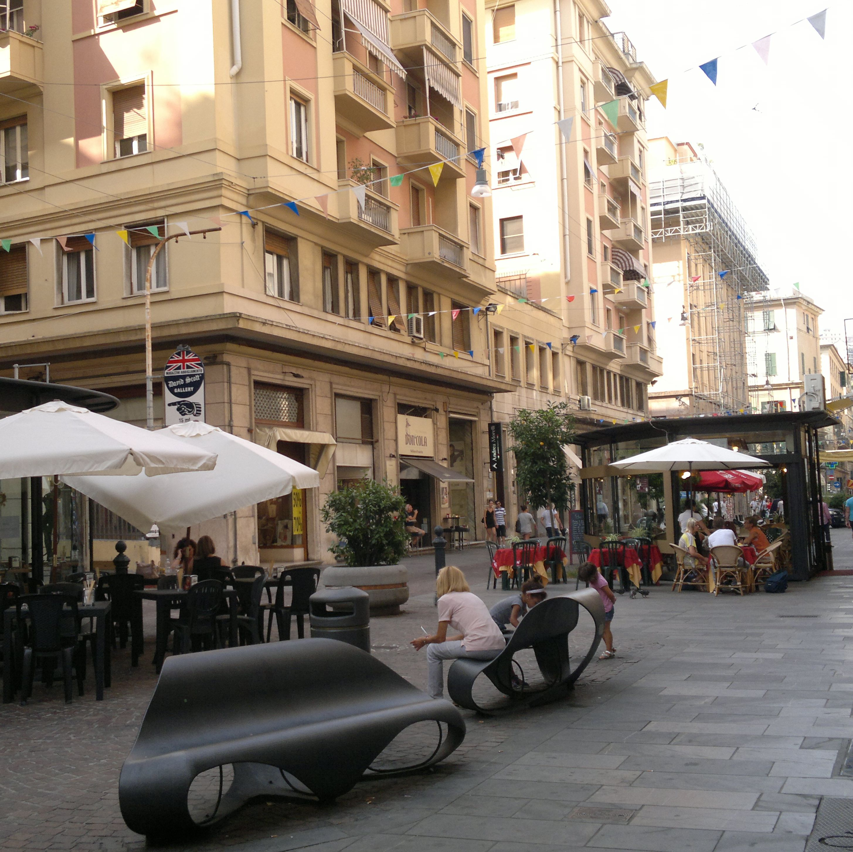 Shopping in Cesarea Street