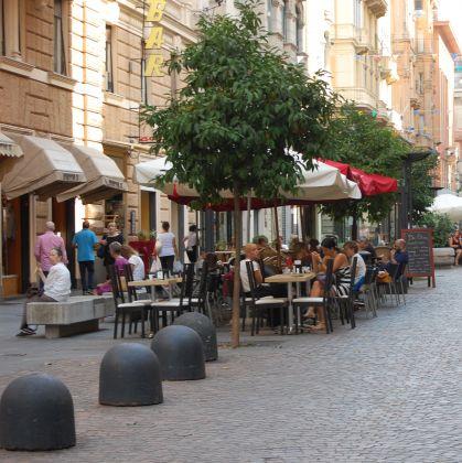 Shopping in via Cesarea