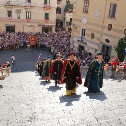 The Medieval Pageant of Genoa - Amalfi 2012 - Giordanella - ©genovacittadigitale