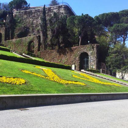 The Caravelle stairway in Piazza della Vittoria - ph.G.Camilla Severino