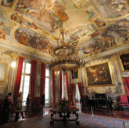 Palazzo Francesco Grimaldi (Galleria Spinola) foto: © studio Leoni