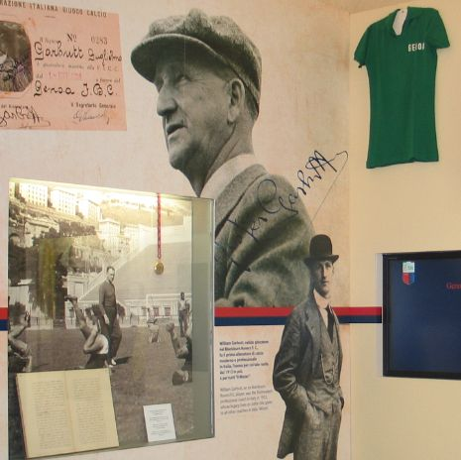 Museo della Storia del Genoa - Gli allenatori della storia del Genoa