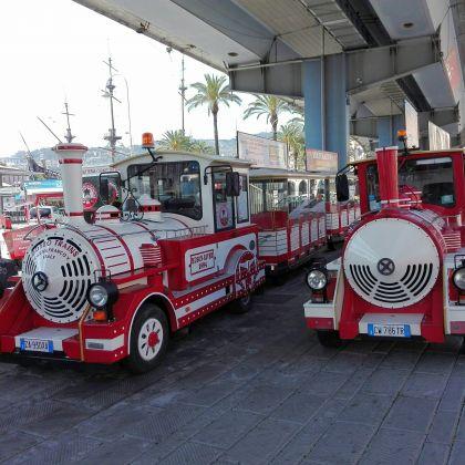 Genova city tour con il trenino Pippo