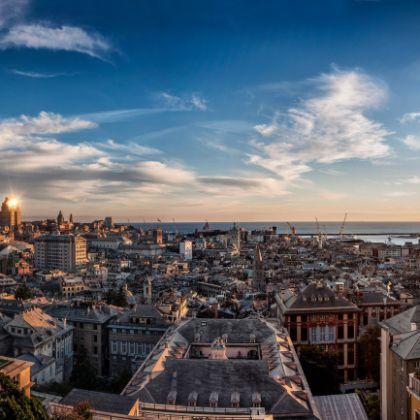 Panorama da Spianata Castelletto, foto: @Andrea Faccio