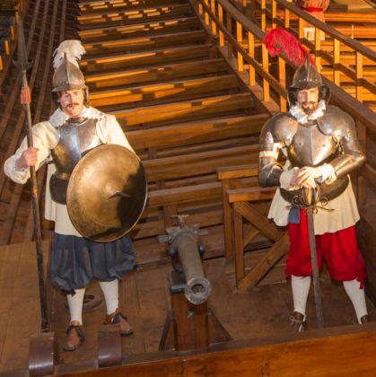 """Itinerario Quattro """"piccoli"""" passi a Genova - Galata Museo del Mare - Galea - ©C"""