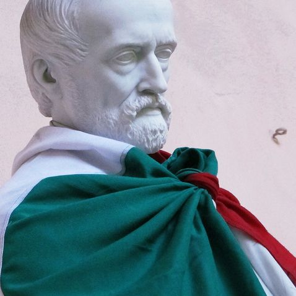 Giuseppe Mazzini - tricolore - Rinaldi ©genovacittadigitale