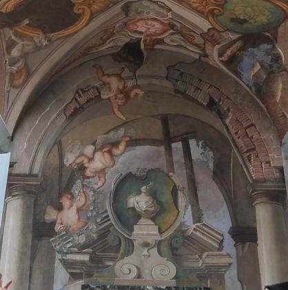 Palazzo Rosso- Paolo Gerolamo Piola - loggia delle rovine - foto Leoni