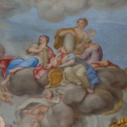 Palazzo Centurione Cosma affreschi di Domenico Parodi Superchilum_CC40