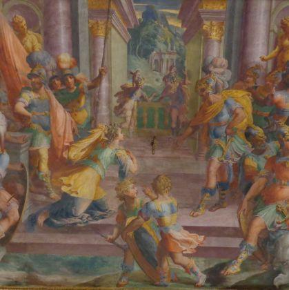 Palazzo B. Lomellini - A.Semino - Storie di Scipione l'Africano - Superchilum4.0