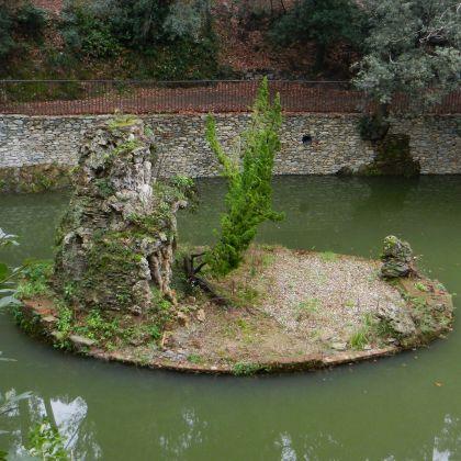 Villa Doria - laghetto - foto: Bbruno (CC 4.0)