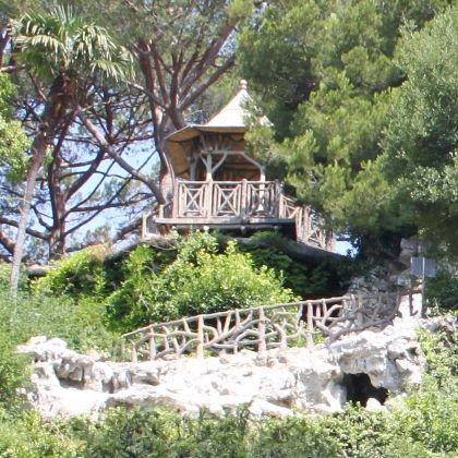 Villetta di Negro - entrata parco