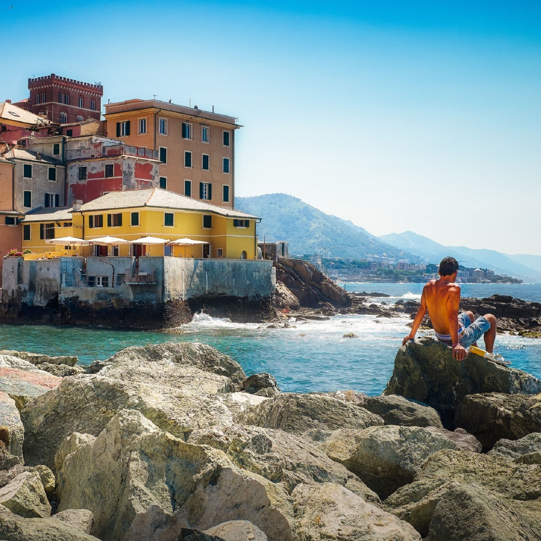 The sea and its beaches: Boccadasse - AdobeStock-Liguriadigitale