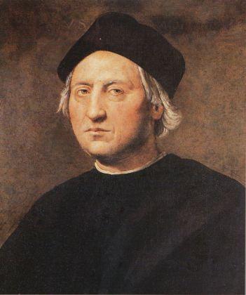 Ridolfo Bigordi del Ghirlandaio (attr.) - Portrait of Christopher Columbus - 152