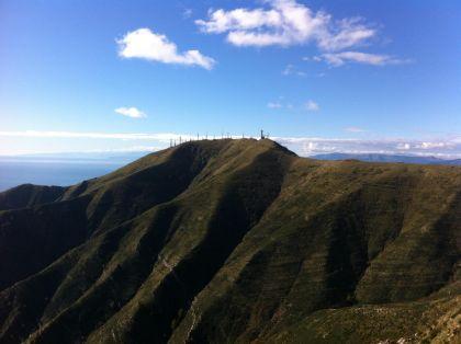 Monte Fasce - crinale