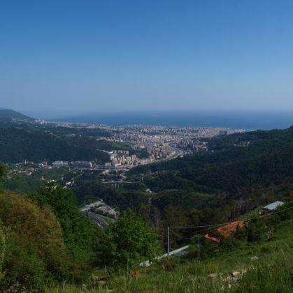 Panorama sulla Val Bisagno