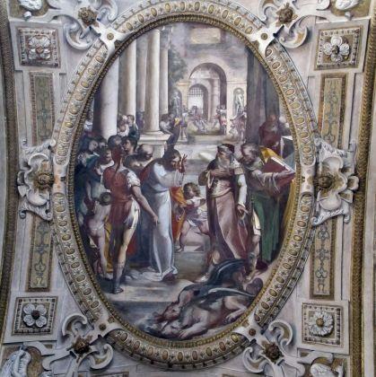 Chiesa di San Matteo - L.Cambiaso - Miracolo dei draghi d'Etiopia - SAILKO CC3.0