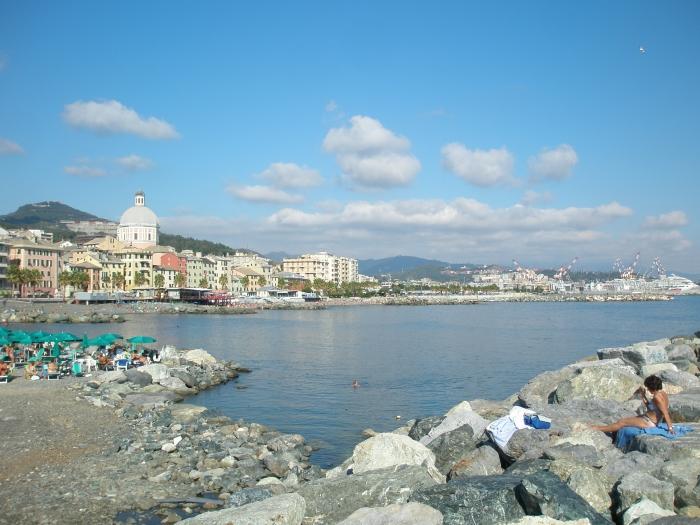 Festa del mare a pegli for Lungomare genova