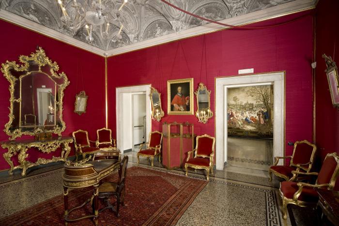 Villa del principe palazzo di andrea doria for Interni ville antiche
