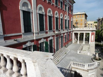 Genova Cornigliano, villa Domenico Serra
