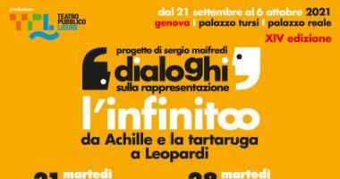 Dialoghi sulla rappresentazione - XIV edizione - L'infinito, da Achille e la tartaruga a Leopardi