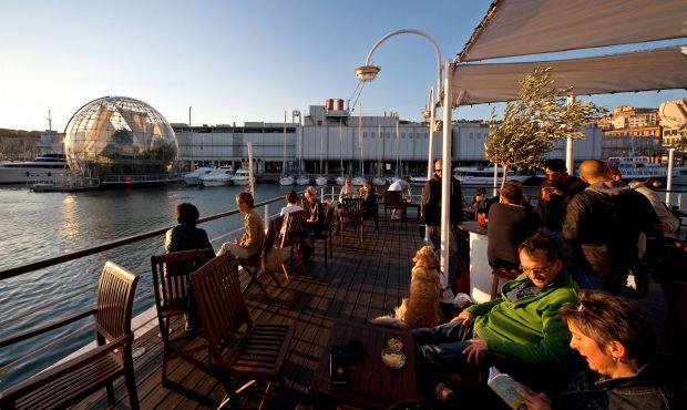 La città degli apertivi - aperitivo al Porto Antico - StefanoGoldberg  - ©Publif