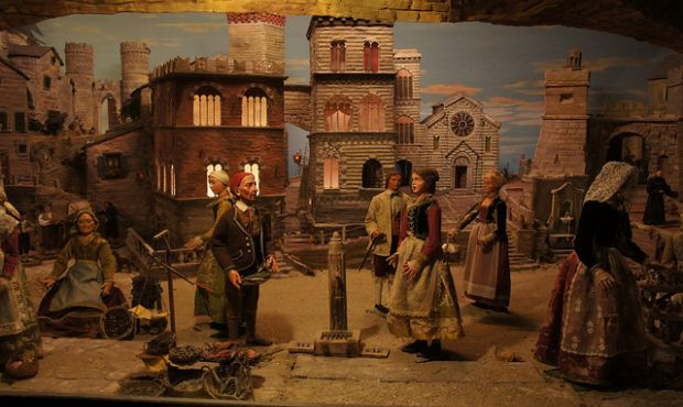 Genoa's Nativity Scenes - Madonnetta - Rinaldi - ©genovacittadigitale